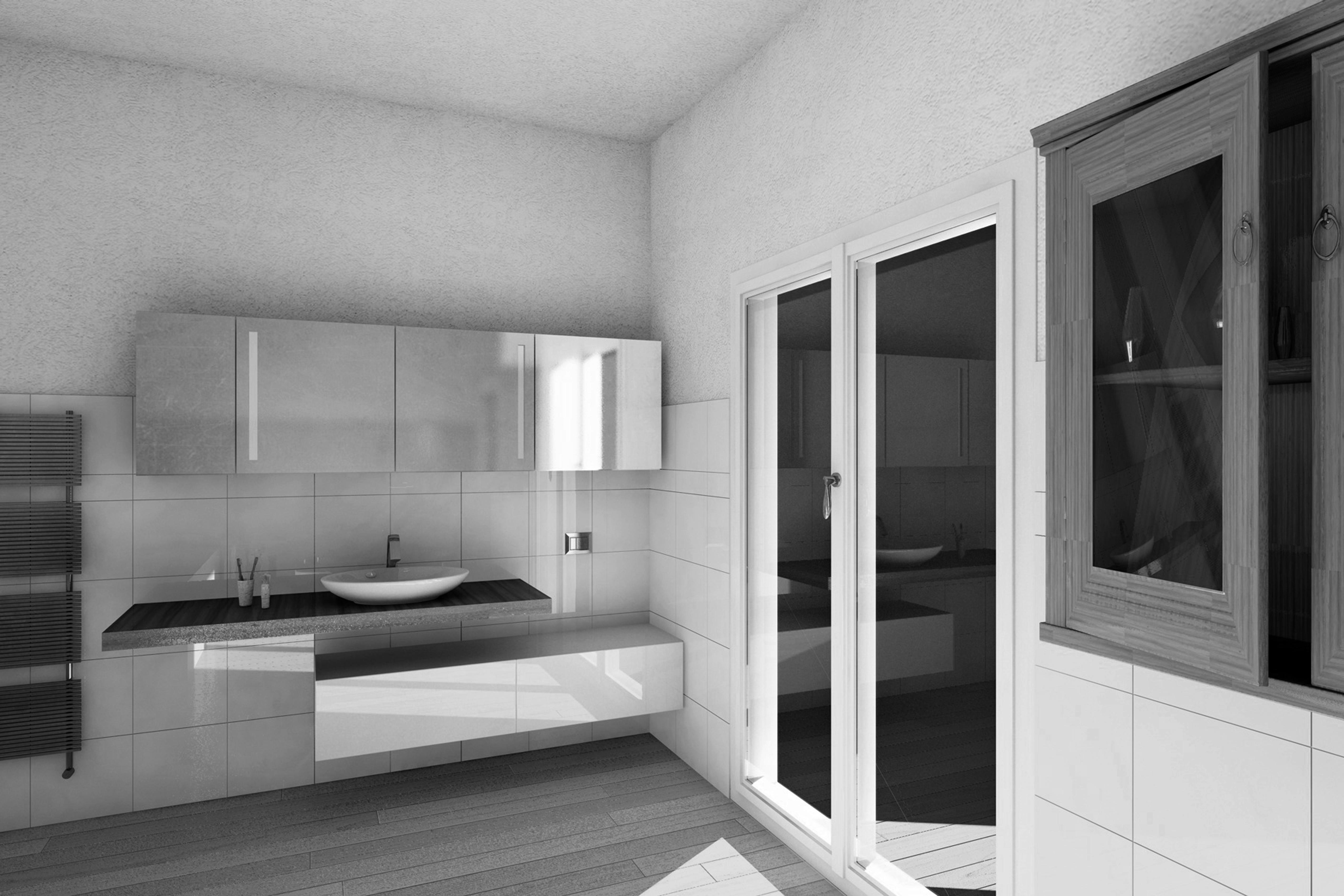 Arredare casa con gli specchi duo di specchi in camera da - Specchi in casa ...