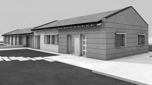nuova costruzione edificio residenziale bifamiliare a novellara, villa riviera