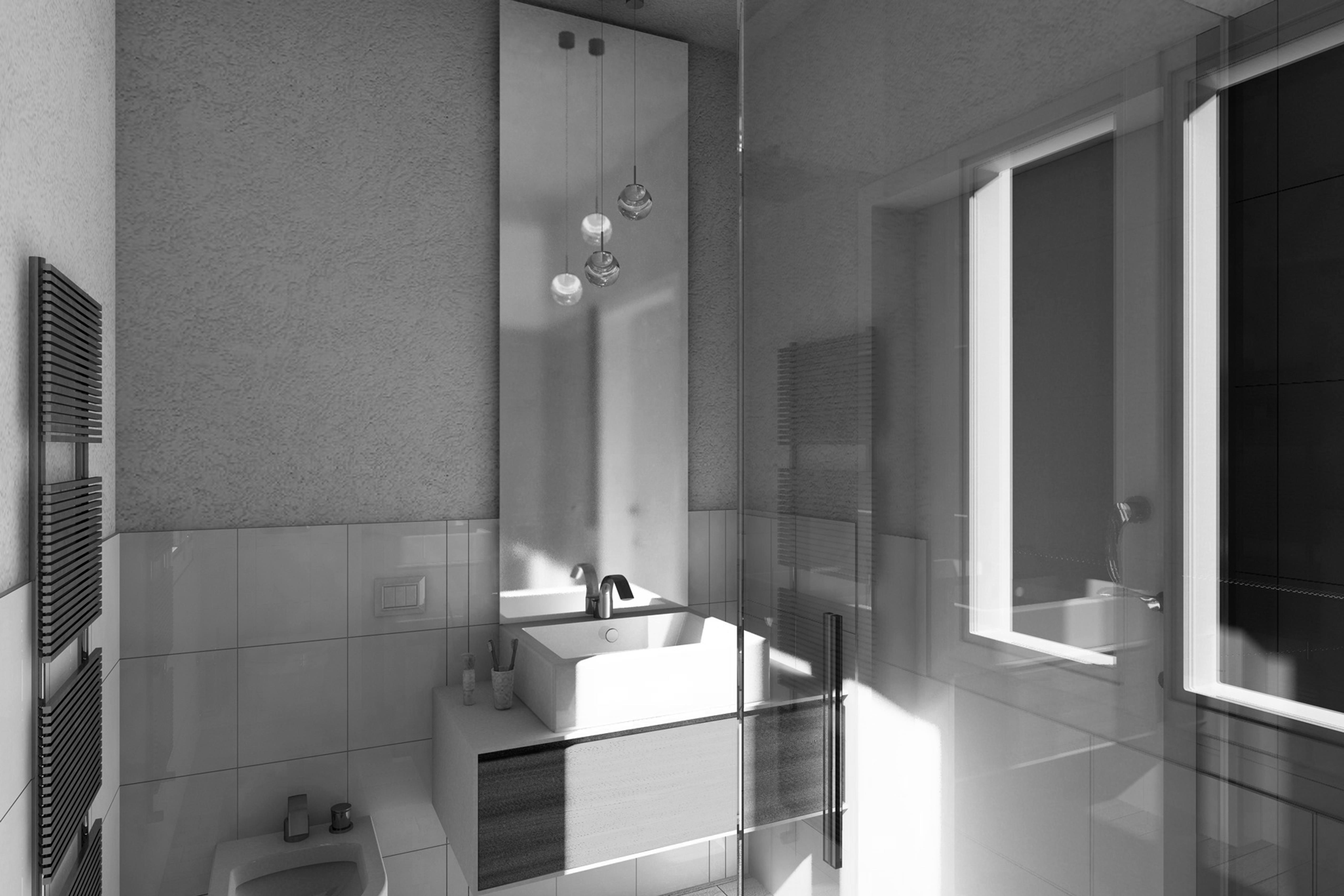 Bagno Aperto In Stile Moderno By Edone Design Interior : Design bagno moderno