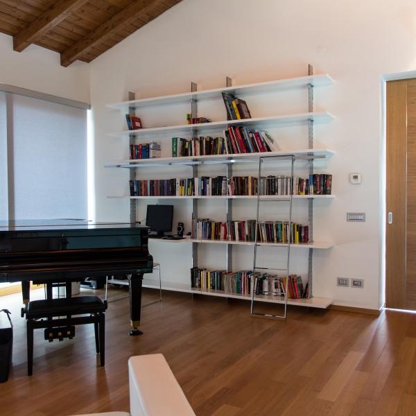 Librerie Moderne In Acciaio.Librerie In Acciaio Design Casa