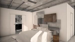 allestimento spazio abitativo di tipo muesale espositivo, design fc arredamenti
