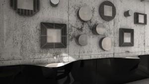 allestimento spazio abitativo di tipo muesale espositivo, design fc arredamentialubel_