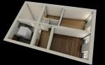 ristrutturazione appartamento unifamiliare residenziale a reggio emilia, visconti