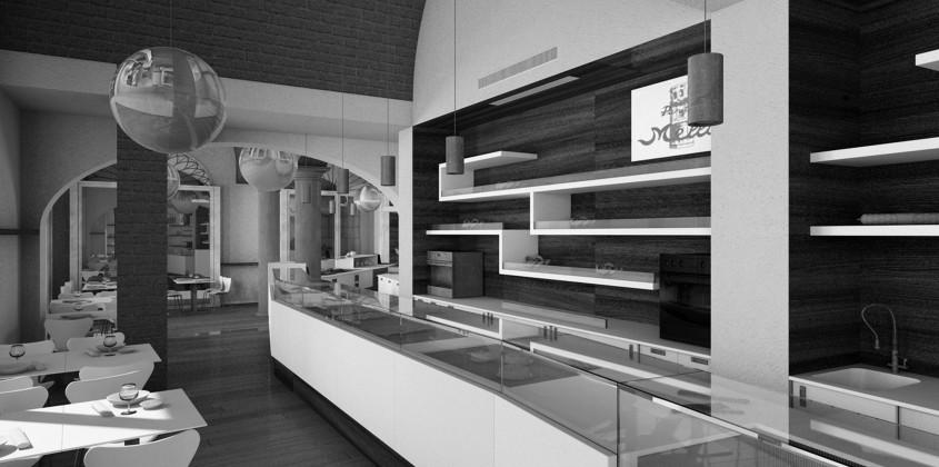 Bar for Arredamento moderno bar