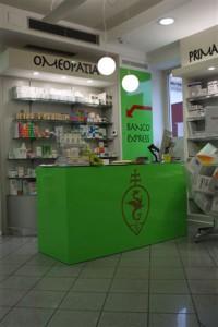 negozio farmacia banco express